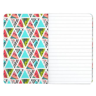 Colorful Abstract Tropical Pattern Journal