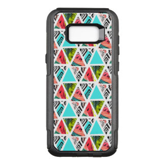 Colorful Abstract Tropical Pattern OtterBox Commuter Samsung Galaxy S8+ Case