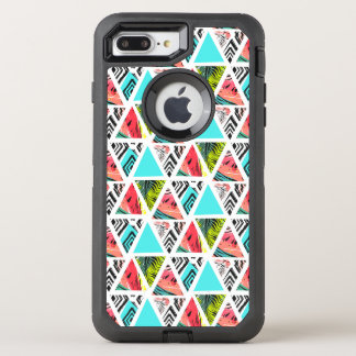 Colorful Abstract Tropical Pattern OtterBox Defender iPhone 8 Plus/7 Plus Case