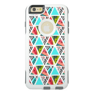 Colorful Abstract Tropical Pattern OtterBox iPhone 6/6s Plus Case