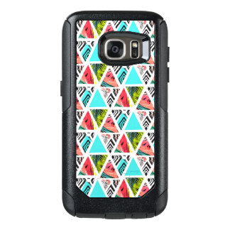Colorful Abstract Tropical Pattern OtterBox Samsung Galaxy S7 Case