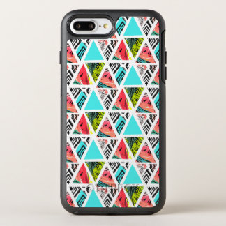 Colorful Abstract Tropical Pattern OtterBox Symmetry iPhone 8 Plus/7 Plus Case