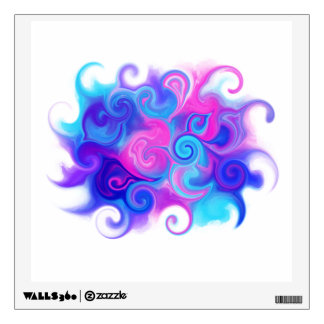 Colorful Abstract Wall Sticker