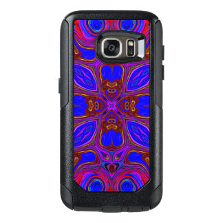 Colorful Abstract Wave OtterBox Samsung Galaxy S7 Case