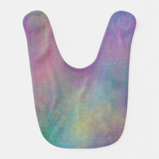 Colorful Abstract with Patterns & Grungy Texture Bib