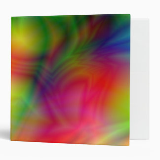 "Colorful Abstraction 2"" Binder"