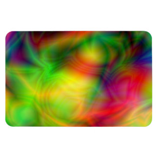 Colorful Abstraction Flexi Magnet