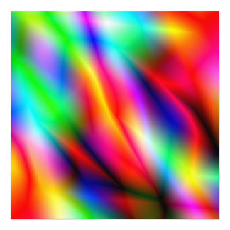 Colorful Abstraction Photo Enlargement Photo