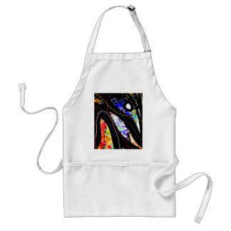 colorful abstraction standard apron
