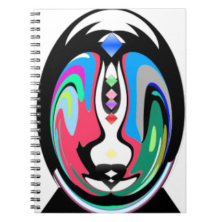 Colorful Abyss Spiral Notebook