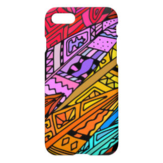 Colorful African Design iPhone 8/7 Case