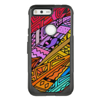 Colorful African Design OtterBox Commuter Google Pixel Case