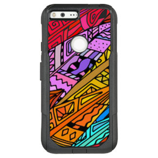 Colorful African Design OtterBox Commuter Google Pixel XL Case