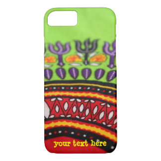 Colorful African fabric PhoneCase  -- Customizable iPhone 7 Case