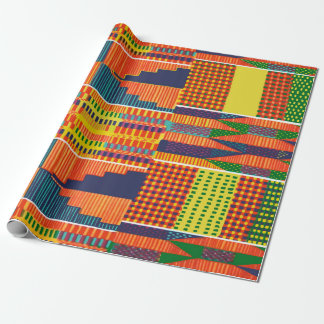 Colorful African Kente