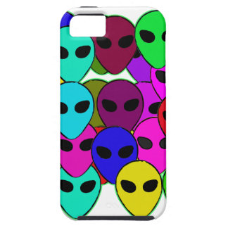 Colorful Aliens iPhone 5 Cases