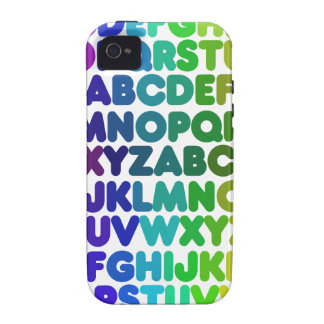 Colorful Alphabet for a TEACHER Vibe iPhone 4 Cover