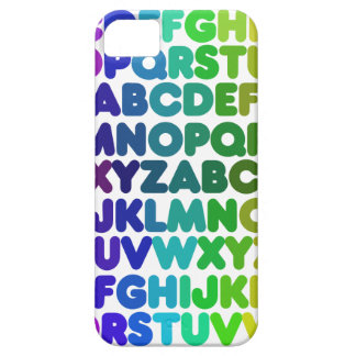 Colorful Alphabet for a TEACHER Case For The iPhone 5