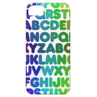 Colorful Alphabet for a TEACHER iPhone 5 Case
