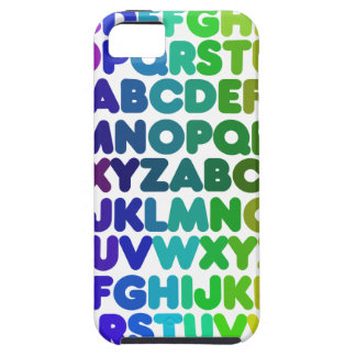 Colorful Alphabet for a TEACHER iPhone 5 Cover