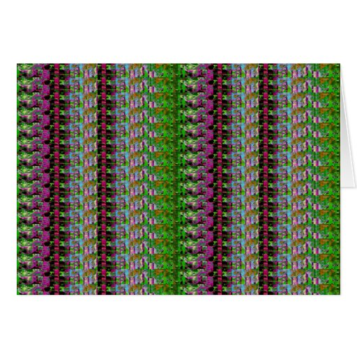 COLORFUL AMAZON WILD PATTERN CARDS