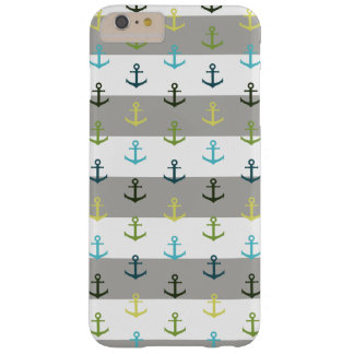 Colorful anchor pattern barely there iPhone 6 plus case