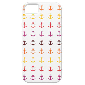 Colorful anchor pattern iPhone 5 covers