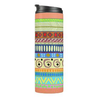 Colorful and Bright Berimbau Tribal Tumbler