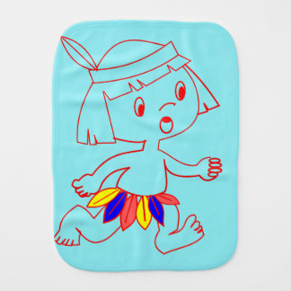 Colorful and Cozy Baby Clothing Burp Cloth
