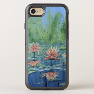 Colorful and Exciting Peach Lilies iPhone 7/8 Case