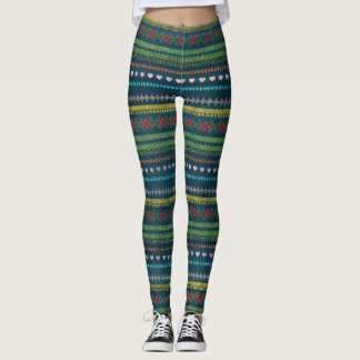 Colorful and Festive Leggings