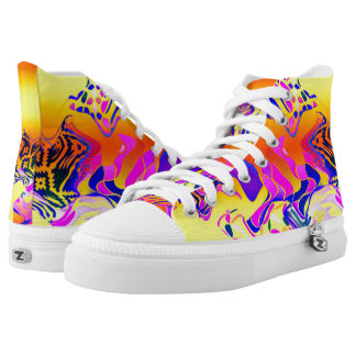 Colorful And Figures♥ High Tops