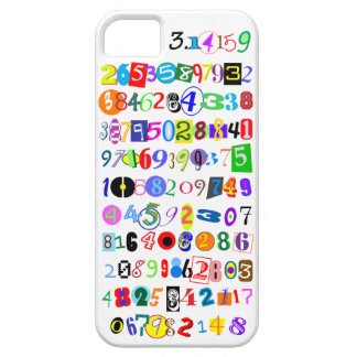 Colorful and Fun Depiction of Pi Calculated iPhone 5 Case