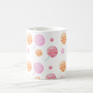 Colorful and multicolored coffee mug