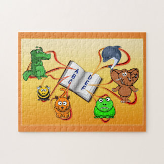 Colorful Animal Alphabet Puzzle