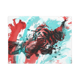 Colorful Animal Tiger Doormat
