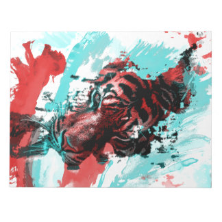Colorful Animal Tiger Notepad