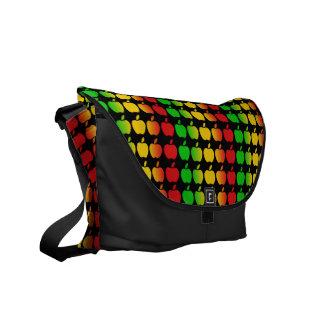 Colorful Apples messenger bag