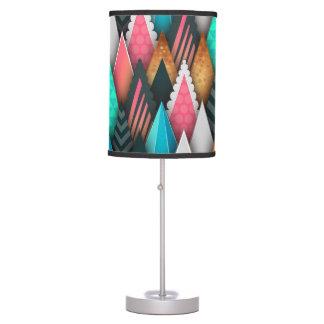 Colorful Arrowhead Pattern Desk Lamps