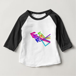 Colorful arrows baby T-Shirt