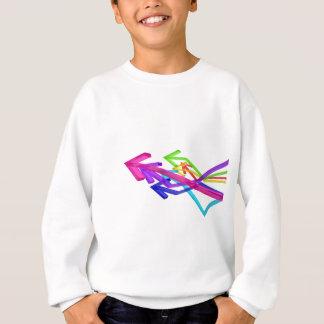 Colorful arrows sweatshirt