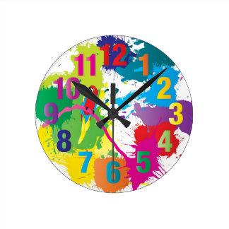 Colorful Art Clock
