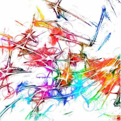 Colorful Art Cut Out