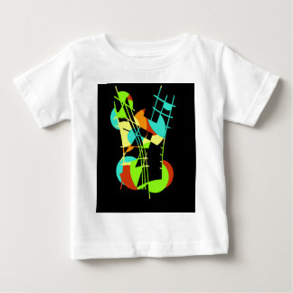 Colorful artistic apstraction baby T-Shirt