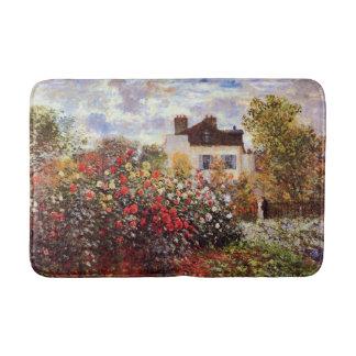 Colorful Artistic Garden Landscape Bath Mat