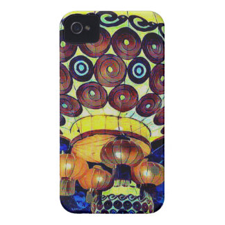 Colorful Artistic Japanese Lantern iPhone 4 Cover