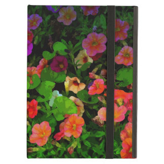 Colorful Artistic Pansies iPad Air Covers