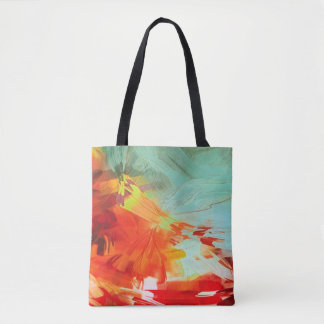 Colorful Artsy Tote Bag
