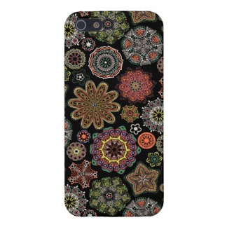 Colorful Assorted Geometric Ornaments Pattern Case For The iPhone 5