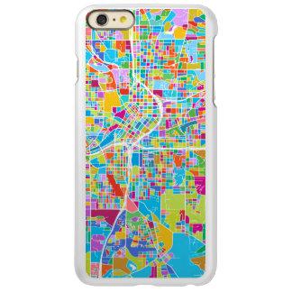 Colorful Atlanta Map